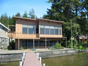 devils lake cottage rentals brannholm glass and timber home on devils lake with dock