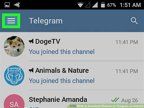 How To Search For On Telegram How To Stickers On Telegram On Android 6 Steps