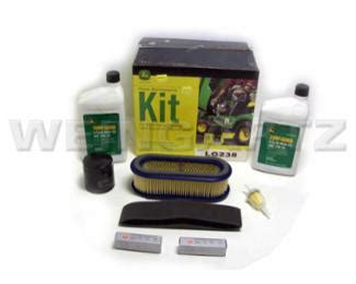 deere parts home maintenance kit for model lg238