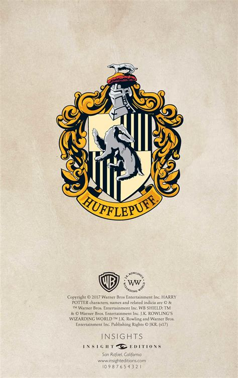 harry potter hufflepuff ruled notebook books harry potter hufflepuff ruled pocket journal book by