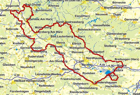 Motorradtouren Harz by Motorradtour Harz Suedlich Vom Harz Motorrad Reisen