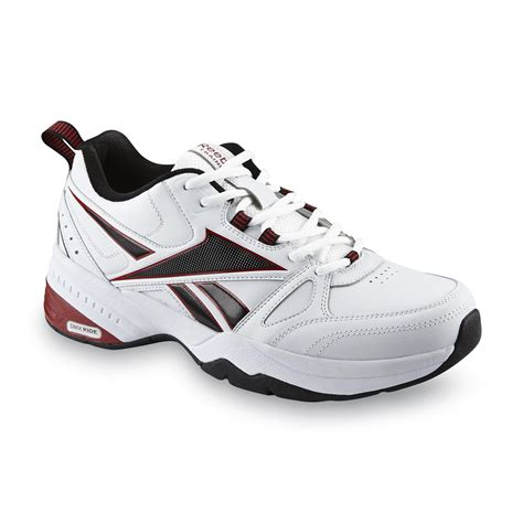 sears mens athletic shoes reebok s royal trainer wide athletic shoe white