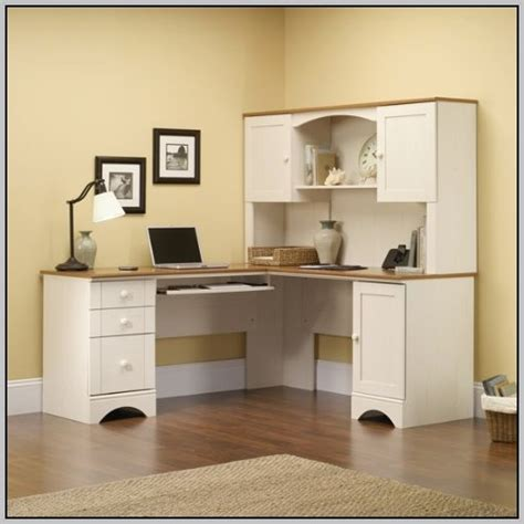 small white corner computer desk small corner desk with hutch desk home design ideas