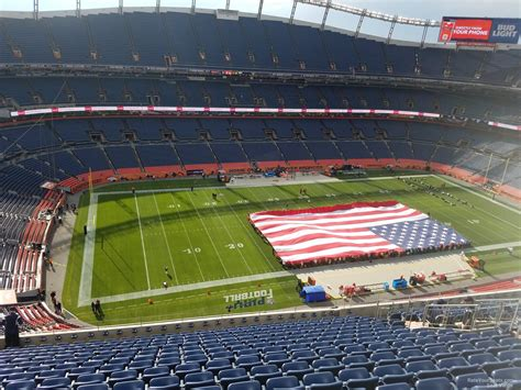 sports authority field sections sports authority field section 538 rateyourseats com