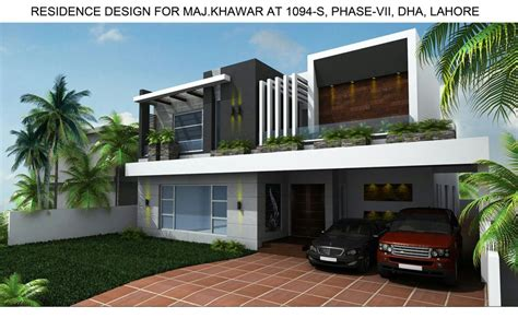 home design consultant 1 kanal house at dha phase 7 lahore by consultant 450 sqm house 3d floor plans info 360
