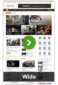 Sahifa Responsive News Magazine Theme sahifa responsive news magazine theme by tielabs