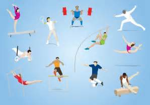 olympic sports vector download free vector art stock