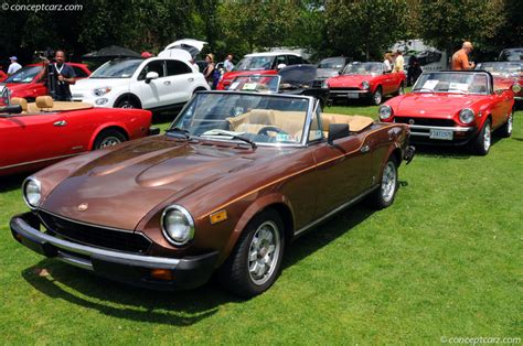 fiat spider 1981 1981 fiat 124 spider 2000 pictures history value
