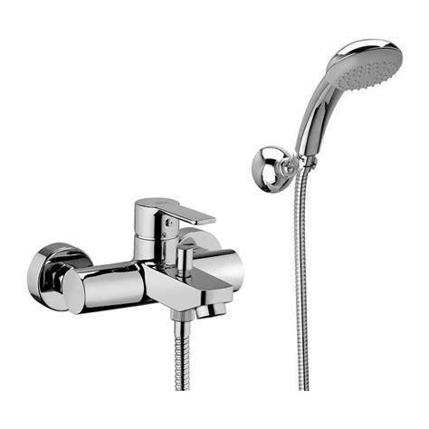 rubinetti vasca paffoni miscelatore vasca con doccetta red023cr