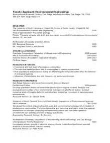 Phd Cv Ecology Faculty