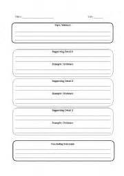 Graphic Organizers For Writing Expository Essays by Five Paragraph Expository Essay Graphic Organizer Essay
