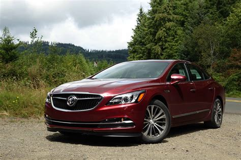 2017 buick lacrosse first drive buick s trendsetter