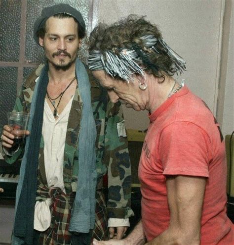 Keith Richards Biography Johnny Depp | johnny depp keith richards jd does the voice over for