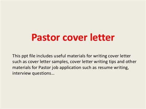 Verification Of Employment Letter For Pastor Pastor Cover Letter