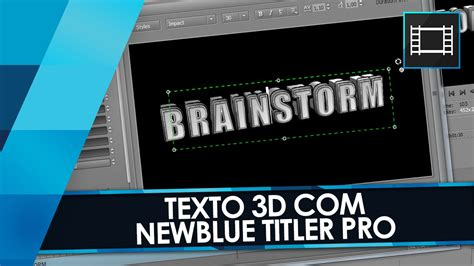 vegas pro titler tutorial tutorial sony vegas texto 3d com newblue titler pro 2 0