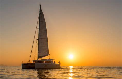 catamaran cruise santorini sunset santorini 5 hour catamaran tag heuer sunset cruise