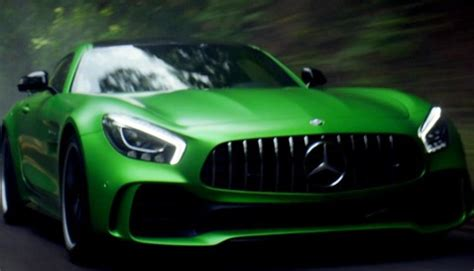 beast of the green hell: the mercedes amg gt r. mercedes