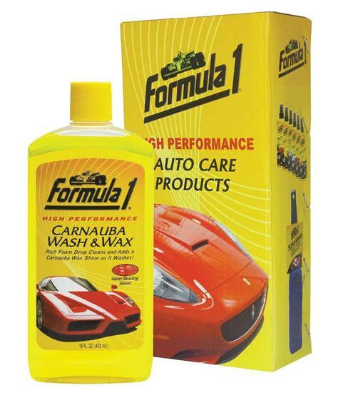 Carnauba Wash And Wax 473 Ml Formula 1 formula 1 carnauba wash wax car shoo 473 ml buy