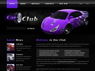 free car templates free cars website templates 28 free css