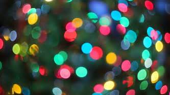 lights blurred bokeh background from christmas night party