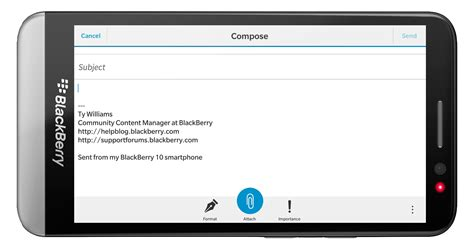 how do i set up my blackberry to check my business email urshadow s blog how to set up an email signature using