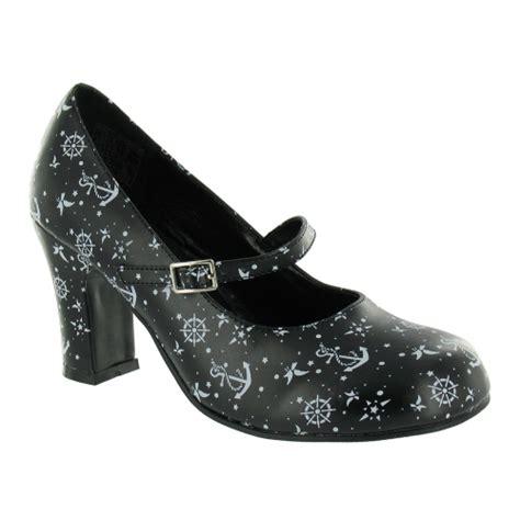 sailor high heels tuk a7327l womens sailor heels black high heels