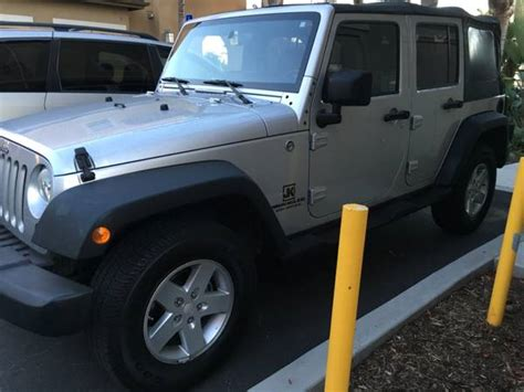 Jeep For Sale San Diego 2008 Jeep Wrangler Unlimited X For Sale In San Diego