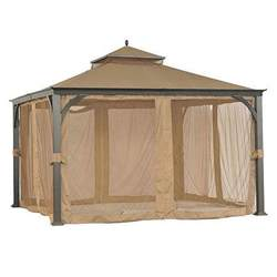 Replacement Canopy 12x12 by Sam S Club 12x12 Two Tiered Replacement Canopy Garden Winds