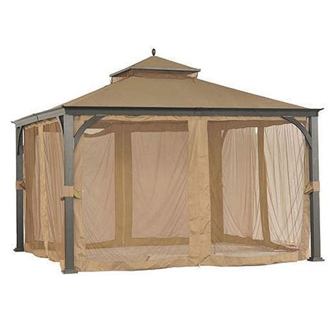 12x12 gazebo sam s club 12x12 two tiered replacement canopy garden winds