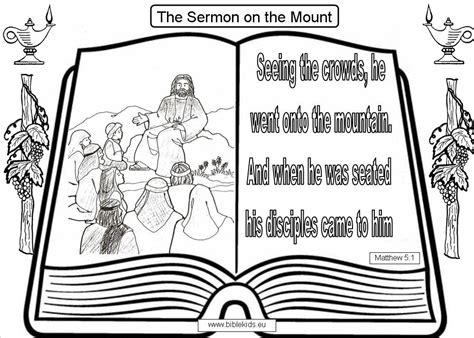 coloring pages of jesus sermon on the mount sermont on the mount coloring pages the beatitudes sermon