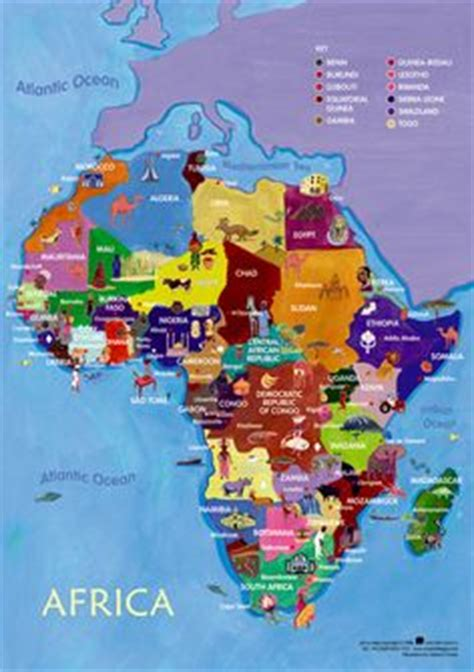 africa map for students 1000 images about thema afrika on africans