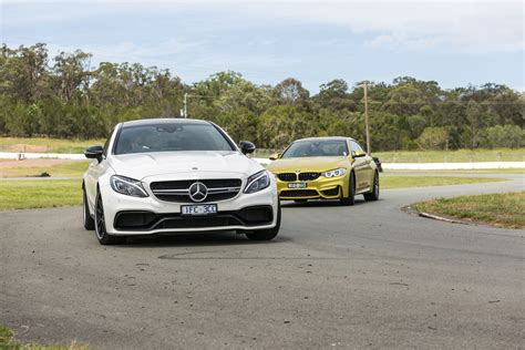 Bmw M Vs Mercedes Amg by Bmw M4 Competition V Mercedes Amg C63 S Coupe Track