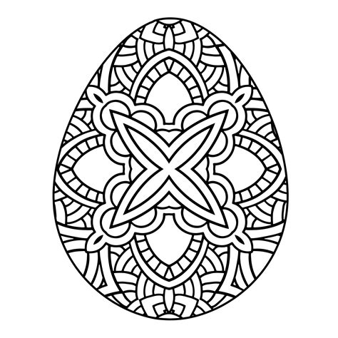 easter eggs coloring pages for adults coloring pages happy easter egg coloring only coloring