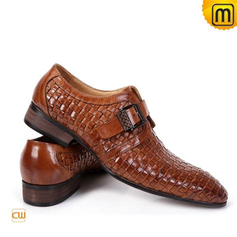 design dress shoes mens designer buckle dress shoes brown cw761188