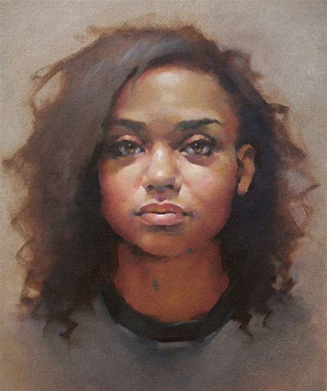 black woman paintings portraits 979 best images about female portrait on pinterest