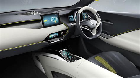 interior concept mitsubishi ex concept interior rendering car body design