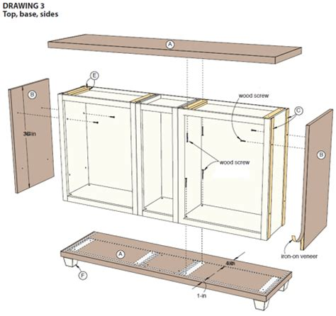 ready to build kitchen cabinets home dzine home decor use stock cabinets to make a