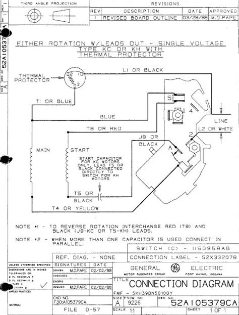marathon electric motor wiring diagram fuse box and