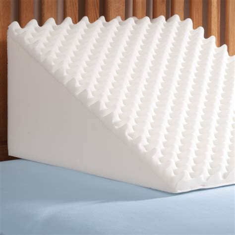 foam pillow wedge foam wedge pillow back wedge pillow easy comforts