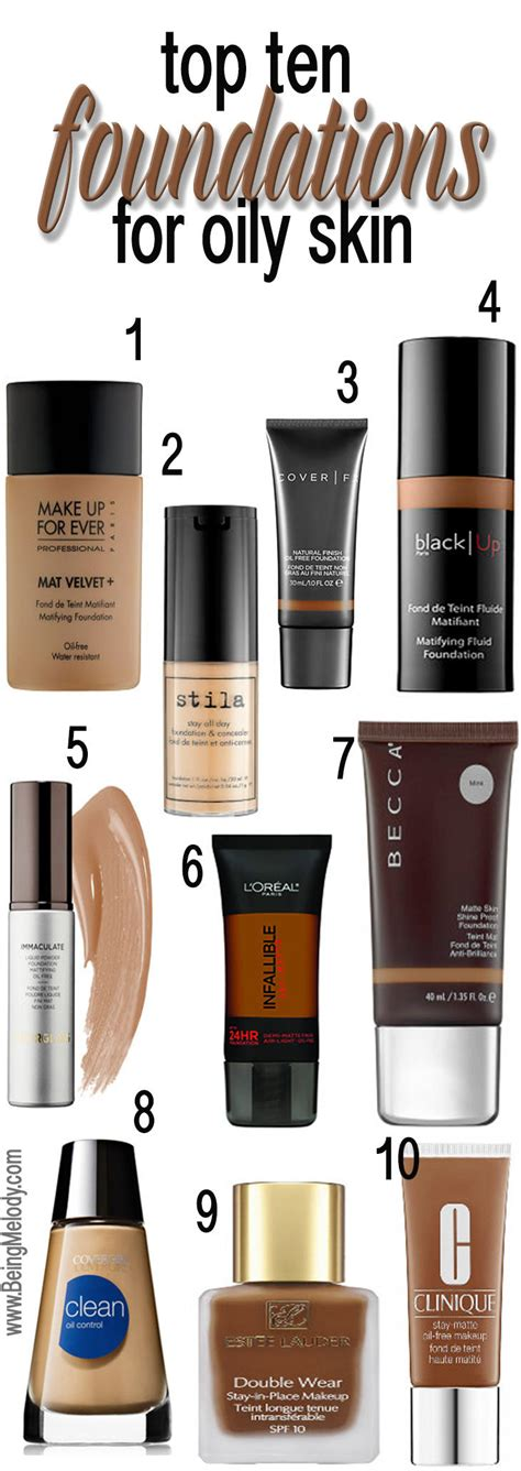 best rated full coverage foundation makeup 2015 top ten foundations for oily skin www beingmelody com