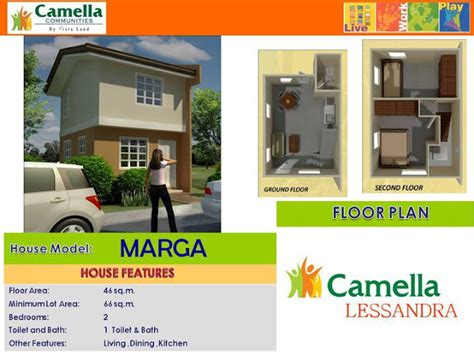 House Plans With 5 Bedrooms Marga House Model Camella Homes Iloilo