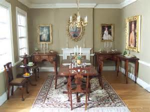 georgian dining room from a doll house doll house