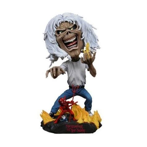 bobbleheads n more iron maiden number of the beast bobblehead knocker