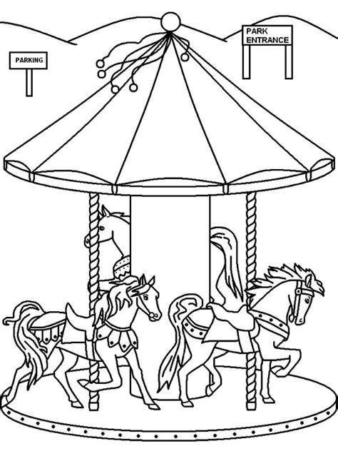 carousel template carousel coloring page coloring pages ideas reviews