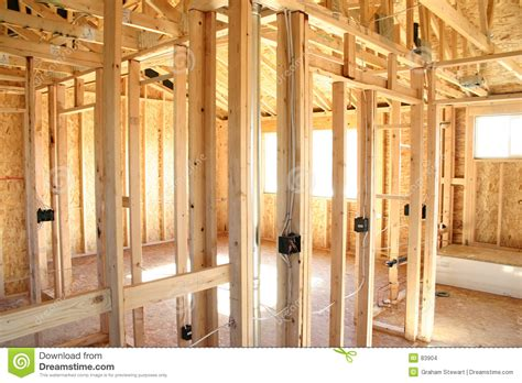 A Frame House by Wooden Frame House Interior Stock Images Image 83904