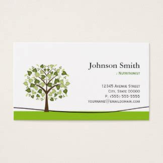 nutritionist business card templates dietitian business cards templates zazzle