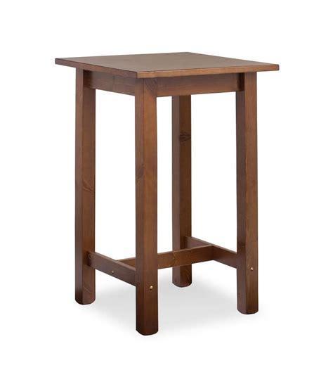 tavolo bar tavolino alto interamente in pino per bar rustico idfdesign