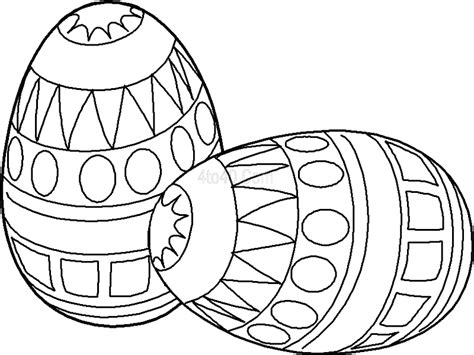 coloring pages easter eggs basket free printable easter egg coloring pages for