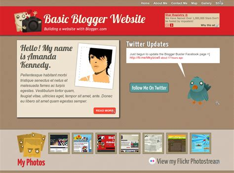 blogger buster ebook building websites with blogger