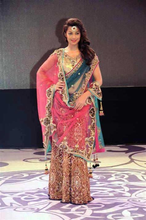 ghagra style saree draping how to wear saree in lehenga style saree guide